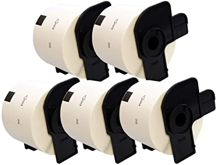 300 DRUCKER ETIKETTEN 62x100mm STANDARD für BROTHER P-touch QL-710W QL-720