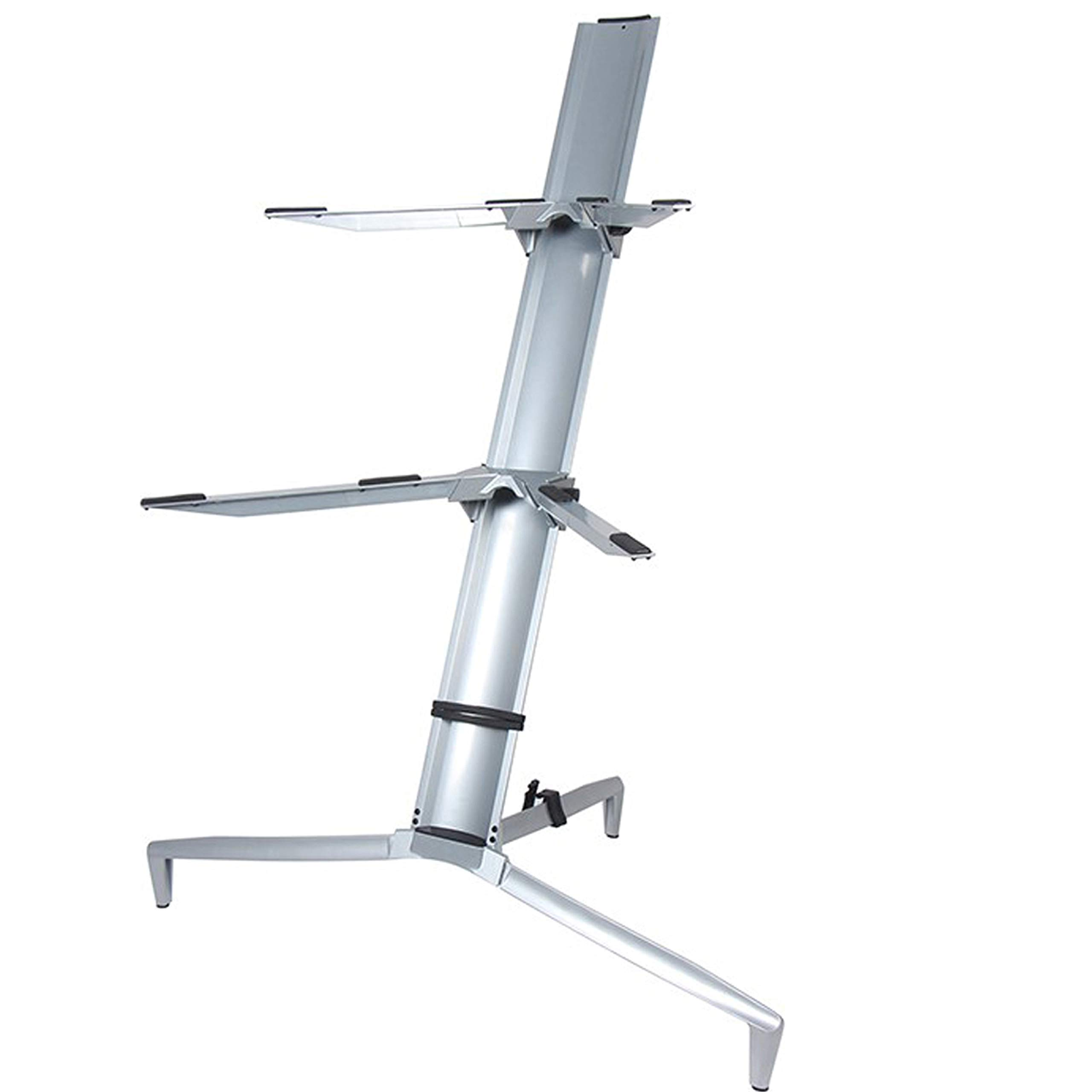 Aluminum Alloy Keyboard Stand Spider 61 76 88 Keys Holder 2 Tier