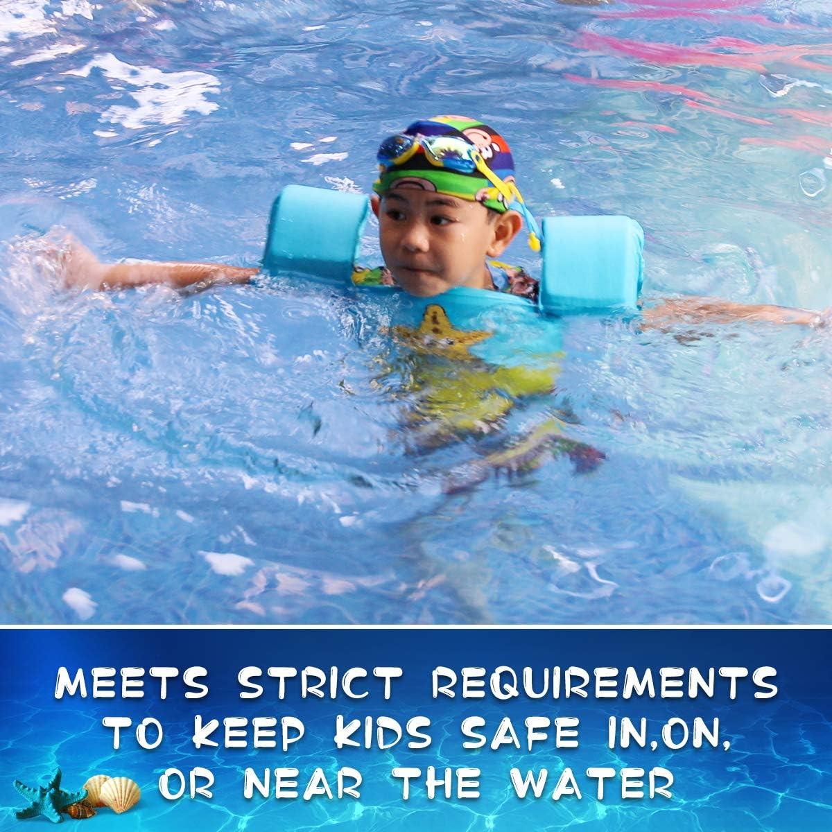 Jevdes Gilet de natation pour enfants 2 /à 7 ans