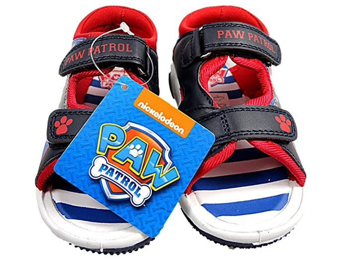 Paw Patrol Bambino Pp Saithes Sintetico Sandali - Blu, 6 Uk Child