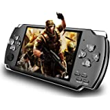LKTINA 8GB 4.3'' 1000 LCD Screen Handheld Portable Game Console, Media Player with Camera Built in 1200+Real Video Games…