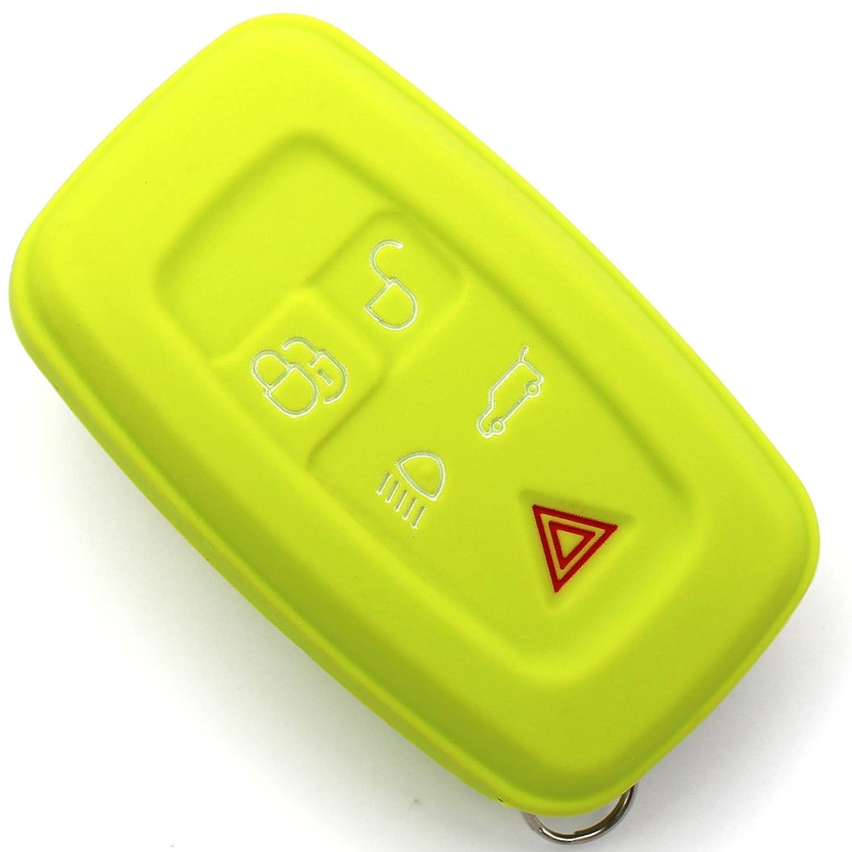 Finest Folia 5 tasti Grigio cenere Cover in silicone per chiavi auto