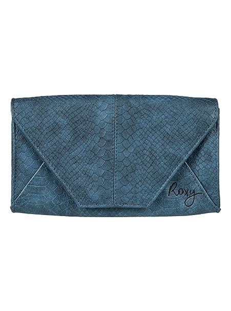 Roxy - Cartera con cierre magnético - Mujer - ONE SIZE - Azul: Roxy: Amazon.es: Ropa y accesorios