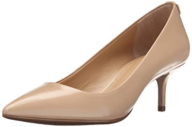 f16f7c59ca1 Michael Michael Kors Women s MK Flex Kitten Pump Nude Smooth Kid Pump