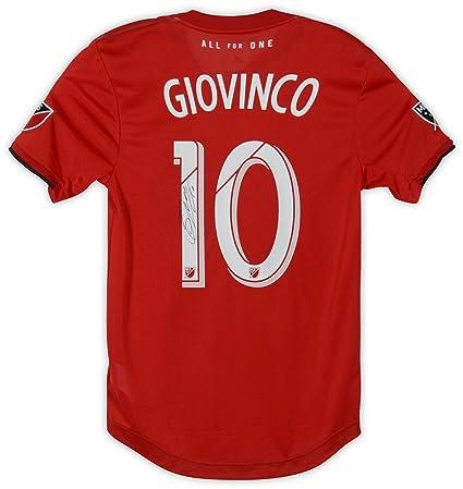 more photos 99650 1b4d4 Sebastian Giovinco Toronto FC Autographed Event-Worn #10 Red ...