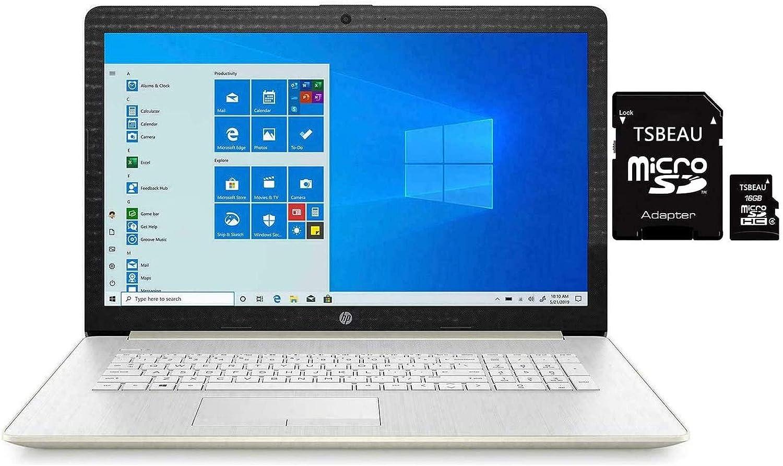 "HP 15.6"" HD Touchscreen Laptop, Generation Intel Core i7-1065G7, 8GB Memory, 512GB SSD, Backlit Keyboard with Numeric keypad, Windows 10 Home, Silver, Bundled with TSBEAU ADATA 16GB Micro SD Card"