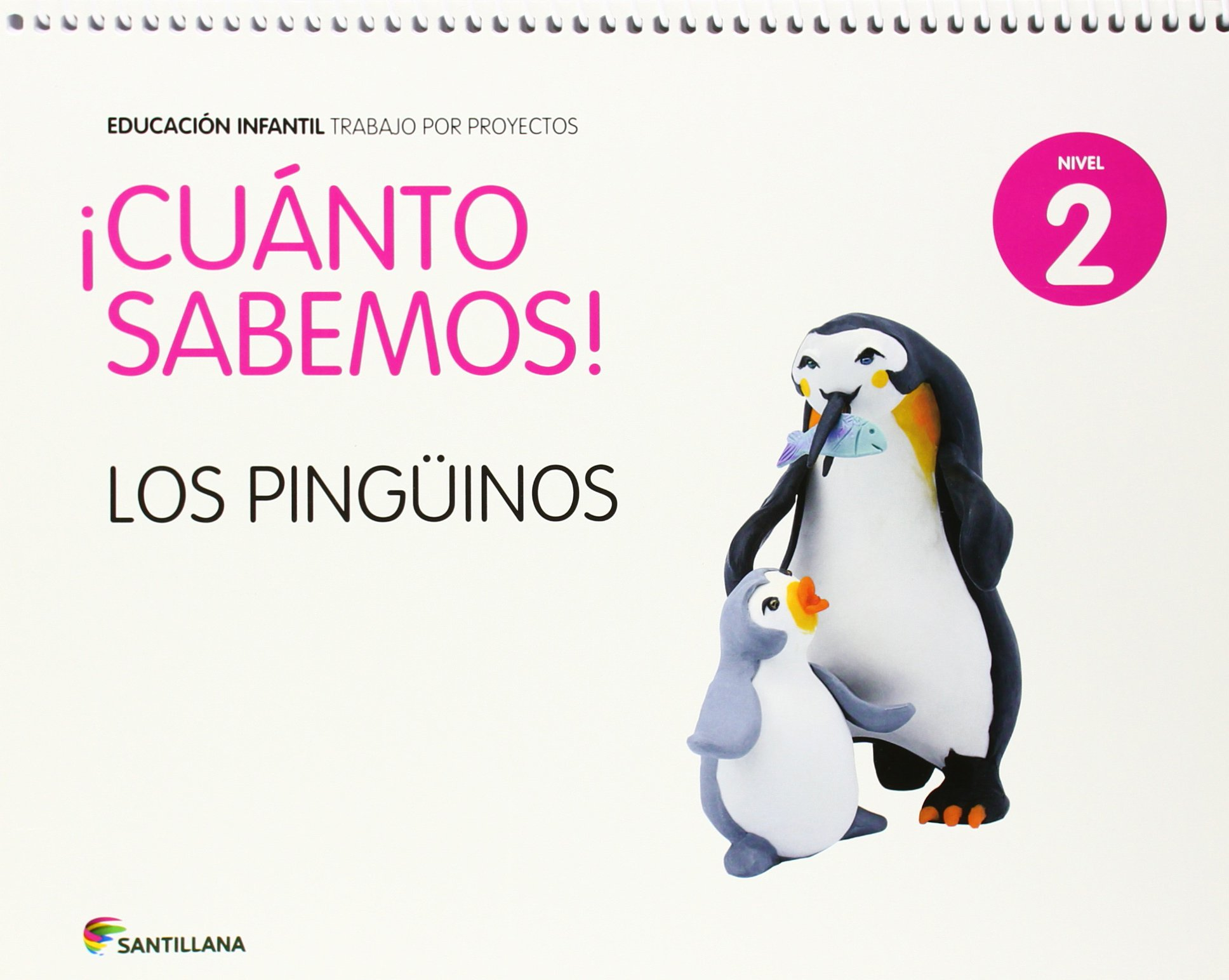 CUANTO SABEMOS NIVEL 2 LOS PINGÜINOS - 9788468018423: Amazon.es: Aa.Vv.: Libros