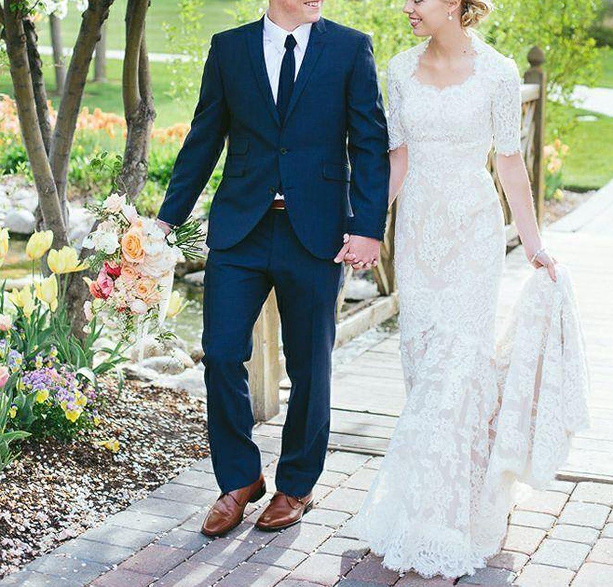 Western Wedding Dresses.Vikdressy Women S Full Lace Sheath Country Western Wedding