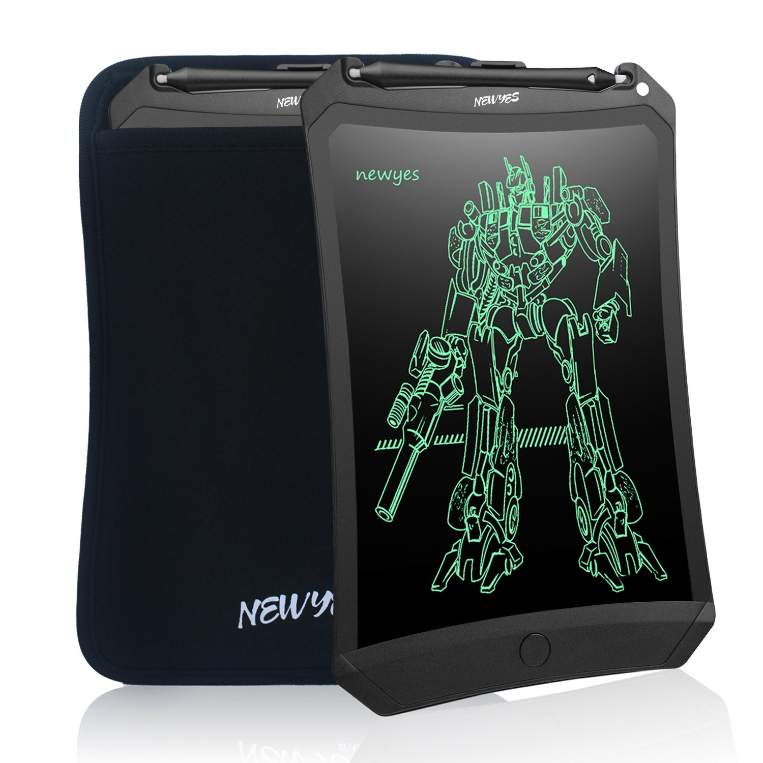 A drawing tablet in color black.