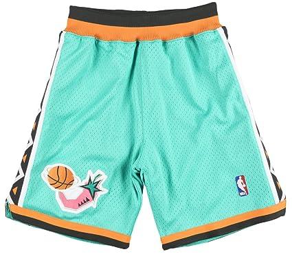 02c40b1ca66b Amazon.com  Mitchell Ness 1996-97 NBA All Stars Authentic Shorts  Clothing