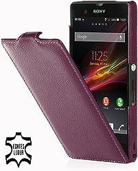 StilGut, Custodia in pelle per Sony Xperia Z