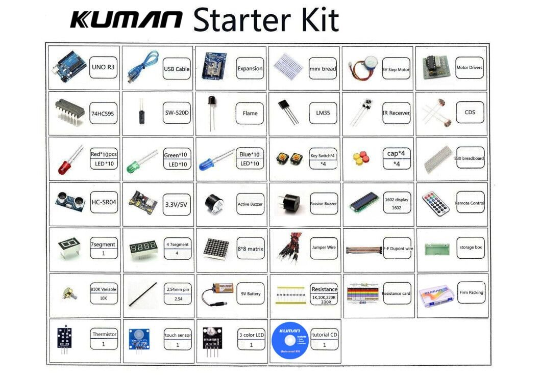 10 Best Arduino Starter Kits For Beginners 2019 Updated