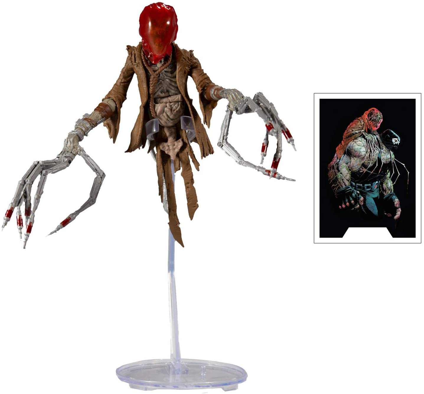 McFarlane Toys - DC Multiverse - Last Knight on Earth Scarecrow with  Build-A-Bane Parts, Figures - Amazon Canada