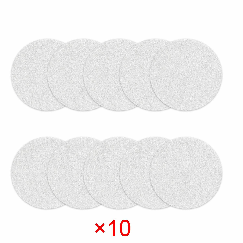 Incutex - 8 strisce antiscivolo per vasca da bagno e doccia di 38 cm di lunghezza e 2 cm di larghezza, trasparenti