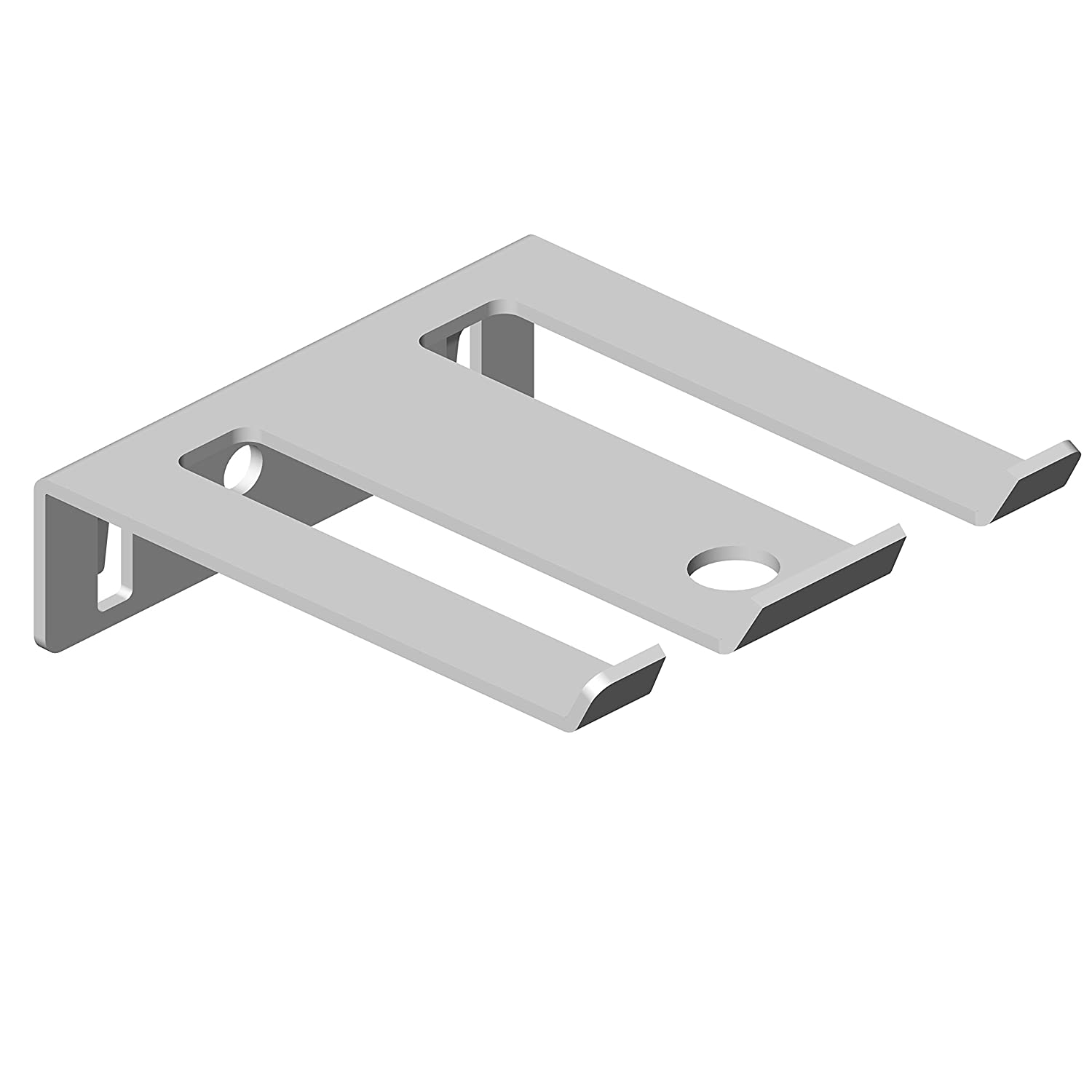 Element System 11405-00002 Porte-outil double 6 outils 63 x 75 mm Blanc