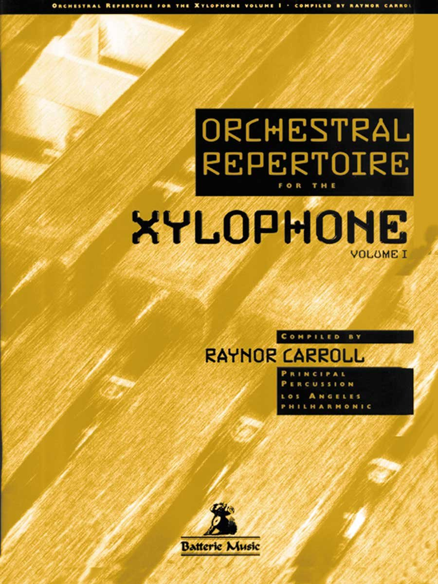 BT-2505 - Orchestral Repertoire for the Xylophone Volume 1 ebook