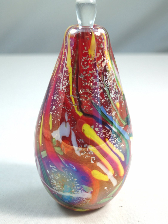Tripact Inc M Design Art Mirror Rainow Elegant HandCraft Unique Glass Perfume Bottle