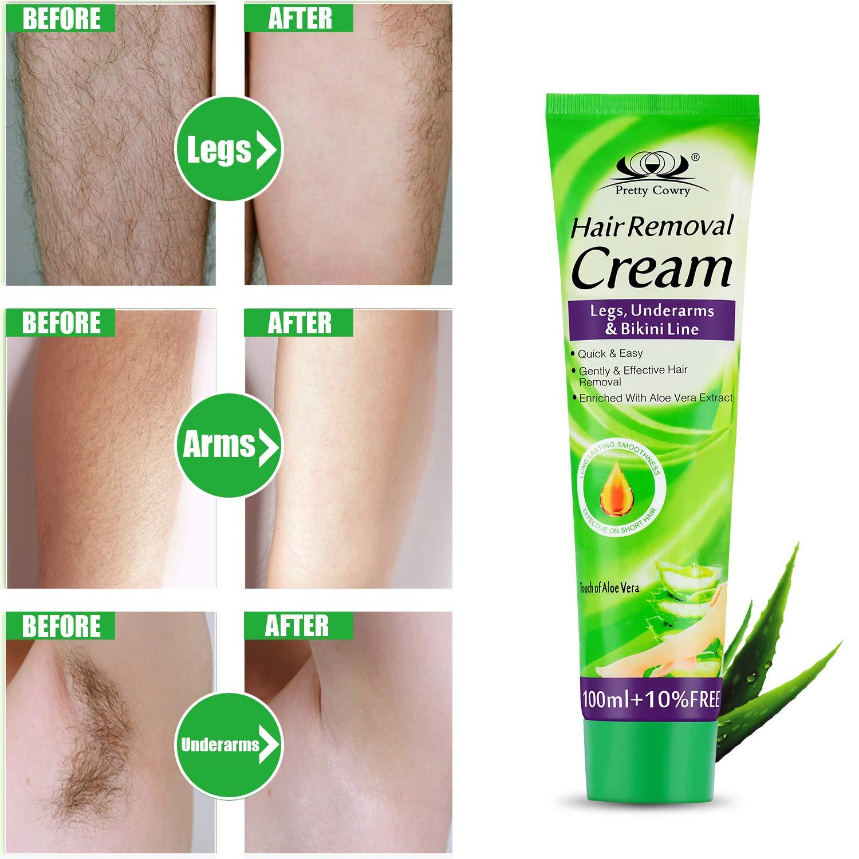 Crema depilatoria para la piel sensible para mujeres ...
