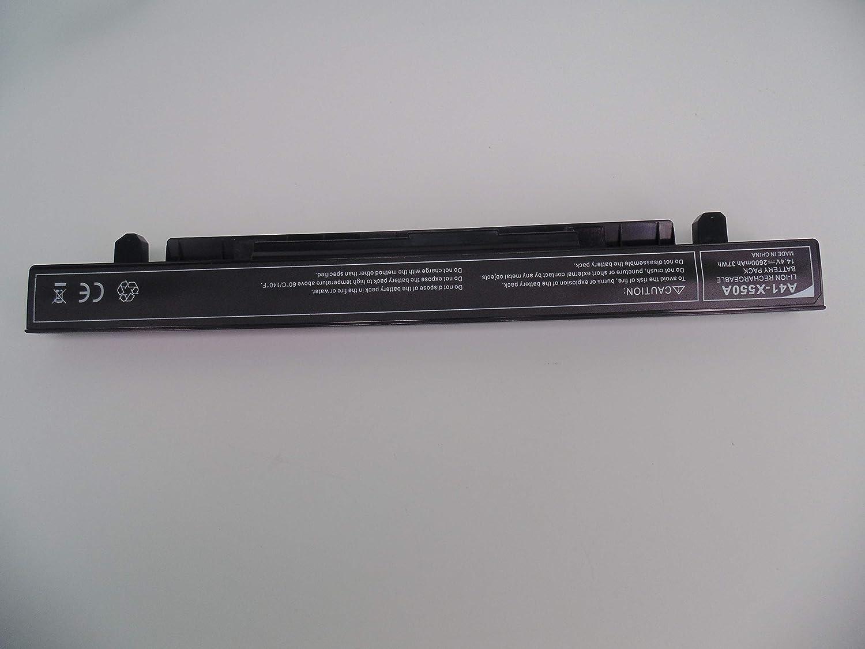 FengWings® A41-X550A 14.4V 2600mAh batería del portátil Compatible con ASUS X450CA X450EA X550CA X550CC X550LA X550LB X550LD X550JD X550JK X550LN X550VC X550EP X550WE X552CL FX50JK F550C R510CA: Amazon.es: Electrónica