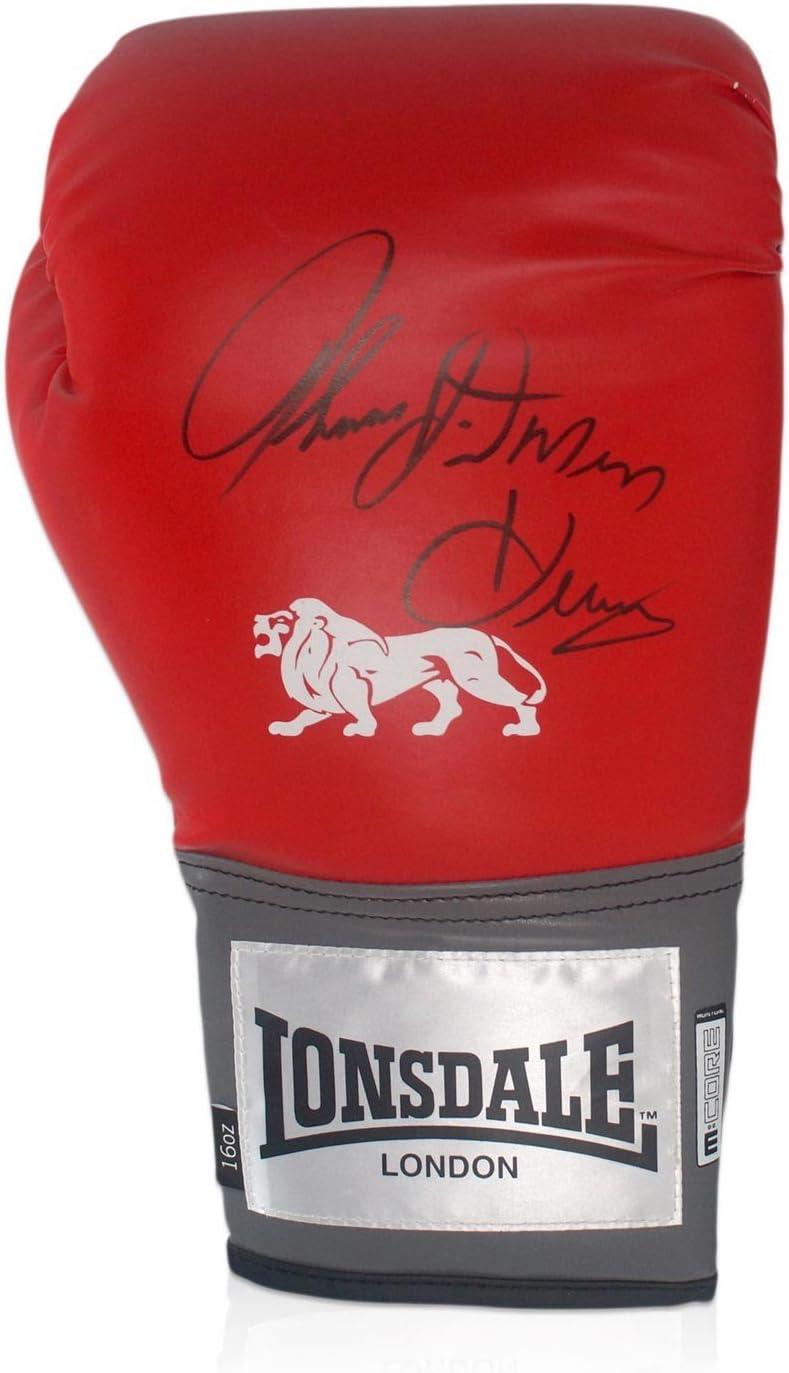 exclusivememorabilia.com Firmado guante Hitman Thomas Hearns boxeo: Amazon.es: Deportes y aire libre