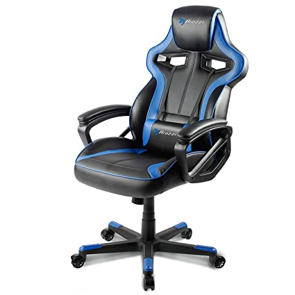 Arozzi Milano Enhanced Gaming Chair, Blue
