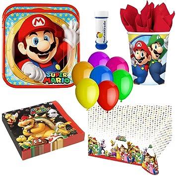 Amscan, doriantrade Super Mario - Juego de Accesorios para ...