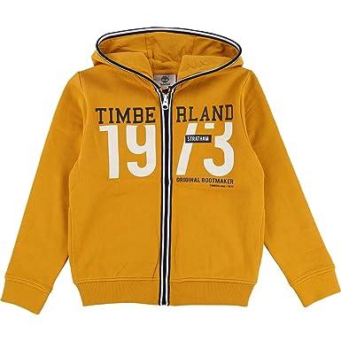 Timberland Sweatjacke mit Reißverschluss und Logo: