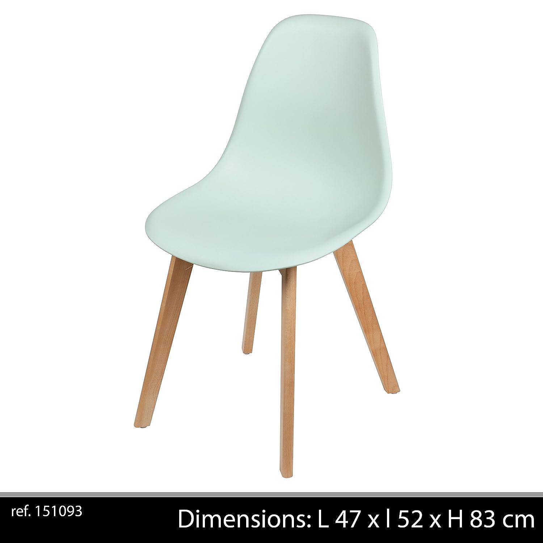 Vert 47x52x83 Chaise Fornord 151093 Bois Ivy D'eau Cm Deau WDH9E2I
