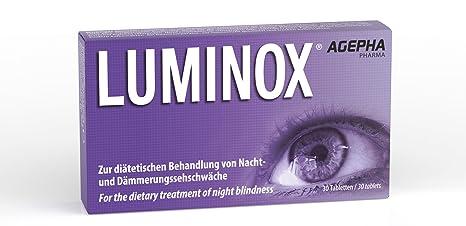 Luminox® Vitaminas Ojos | Mejorar la Visión Nocturna | vitaminas para vista | Ginkgo Biloba