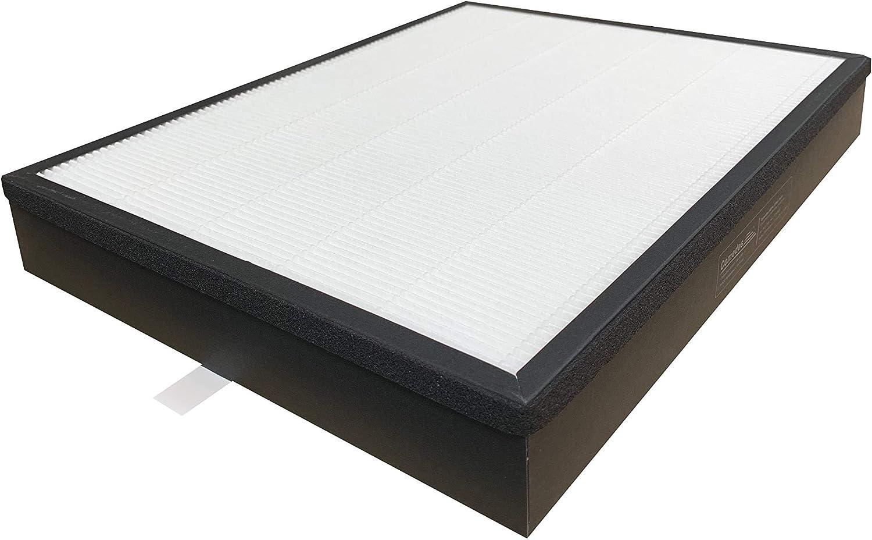 Comedes Juego de filtros de repuesto para los Philips purificador de aire AC3256/10 y AC3259/10 (Serie 3000) | HEPA y filtro de carbón activado | Utilizable en lugar de los FY3432/10 y