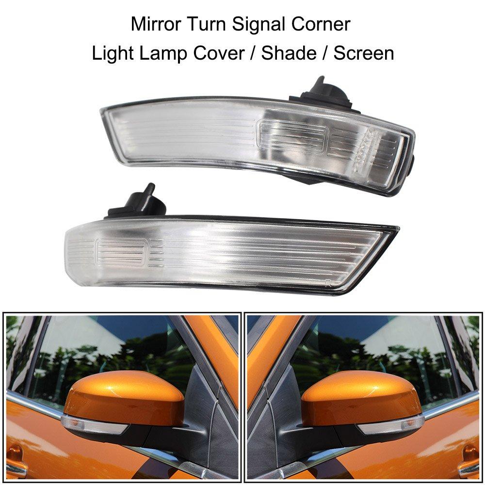 KKmoon Coppia di Specchio Indicatori di Direzione Schermo Ombra Coperchio della Lampada