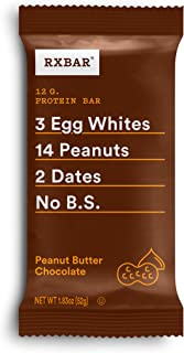 product image for RxBar, Peanut Butter Chocolate Protein Bar, 1.8 Ounce