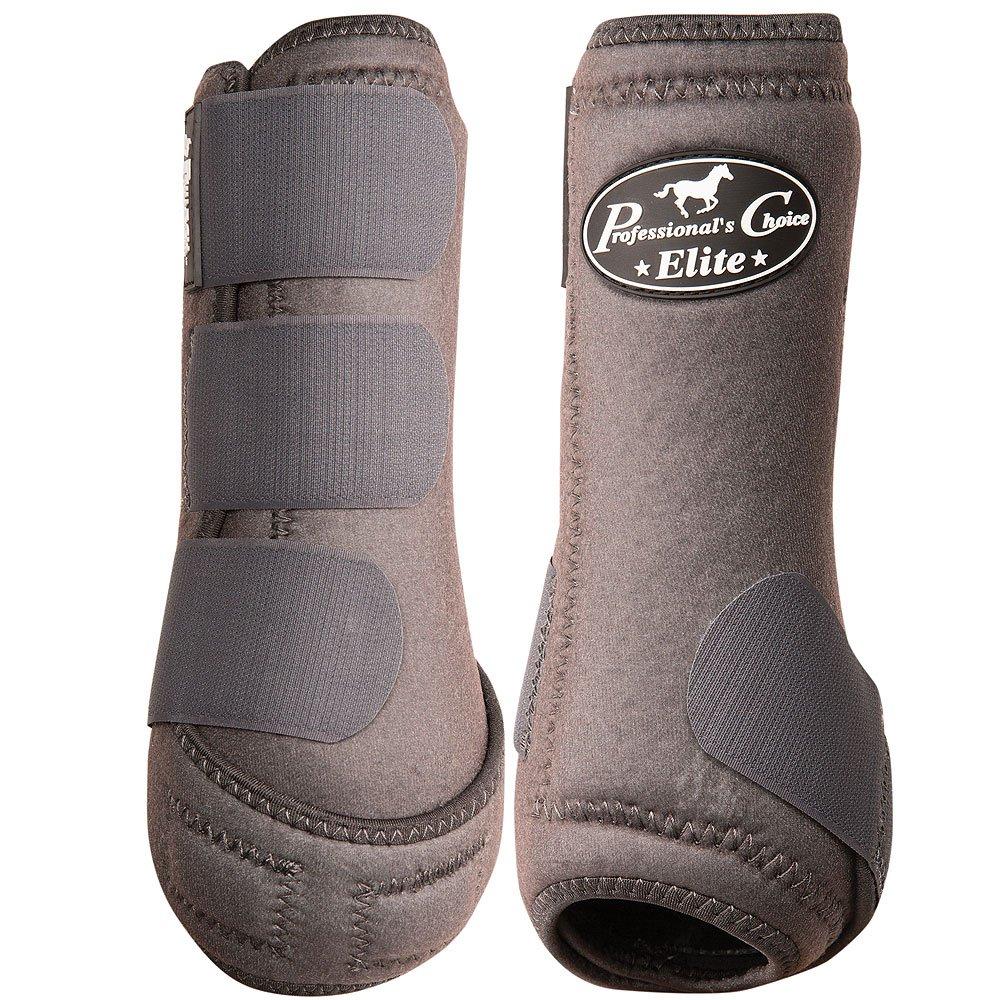 Charcoal Medium Charcoal Medium Professional's Choice Equine Sports Medicine Ventech Elite Front Leg Boot, Pair