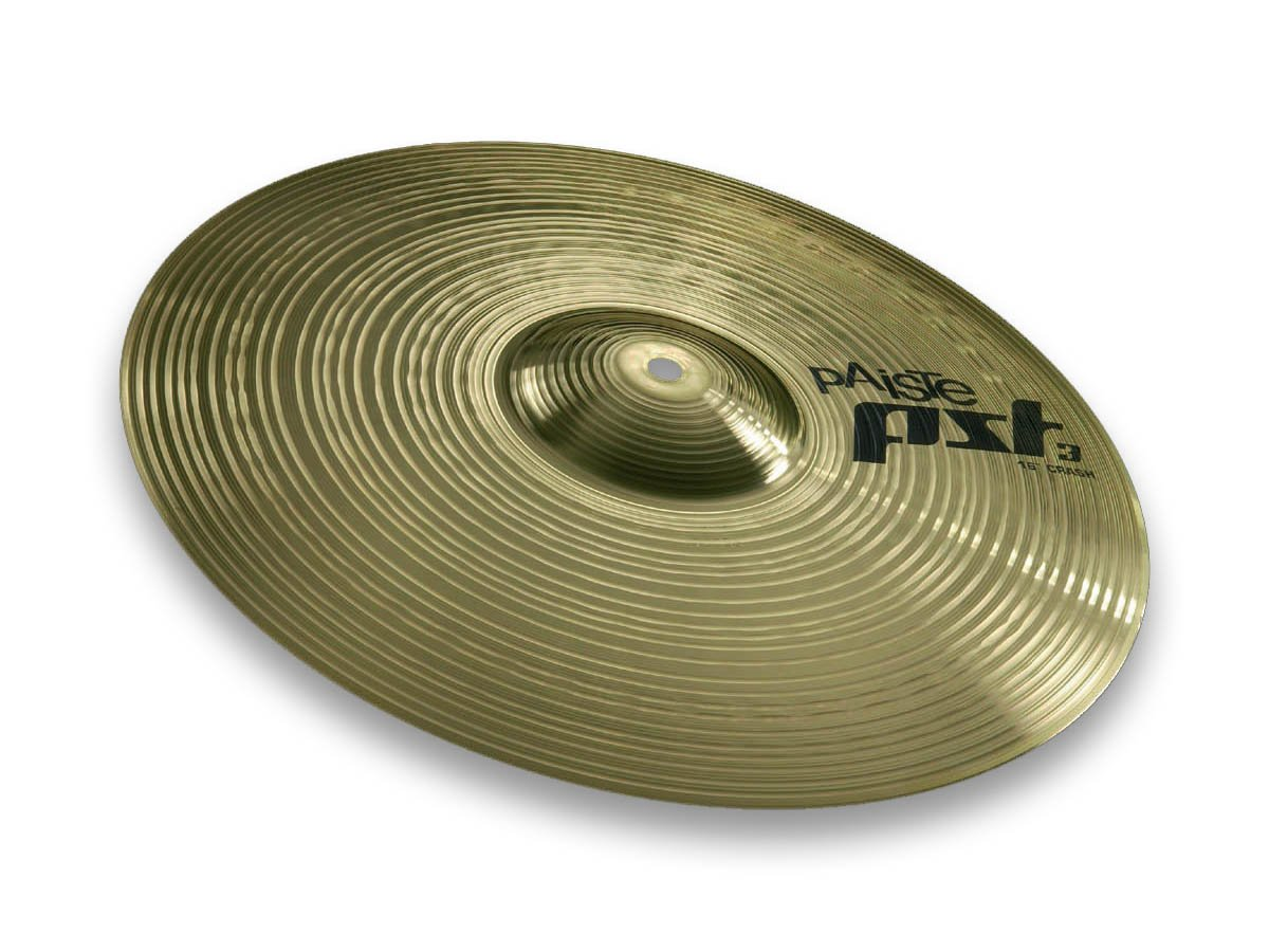 Paiste PST 3 Cymbal Crash 16-inch by Paiste
