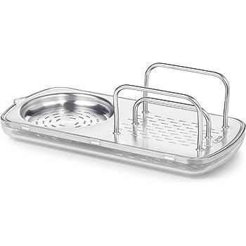 Amazon Com Oxo Good Grips Stainless Steel Sink Organizer