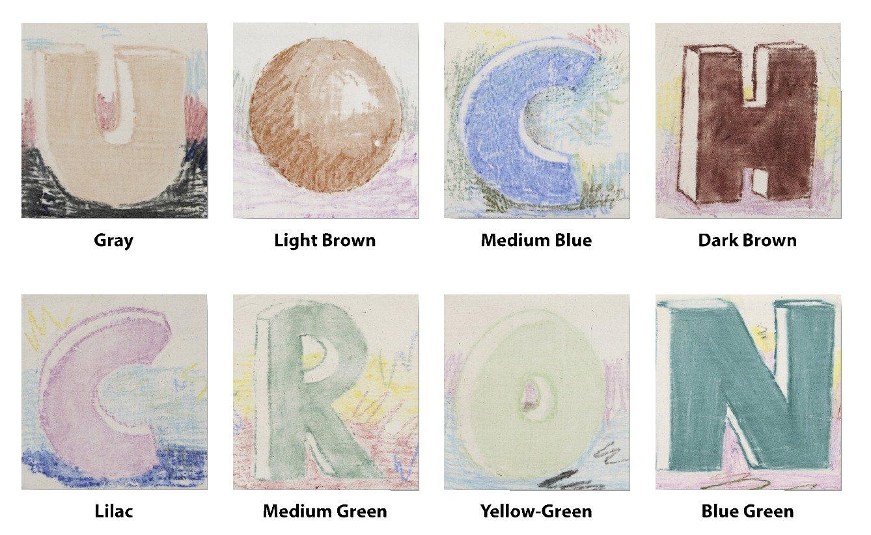 AMACO Non-Toxic Underglaze Decorating Crayon Set - a, Assorted Color, Set of 8 by AMACO (Image #2)