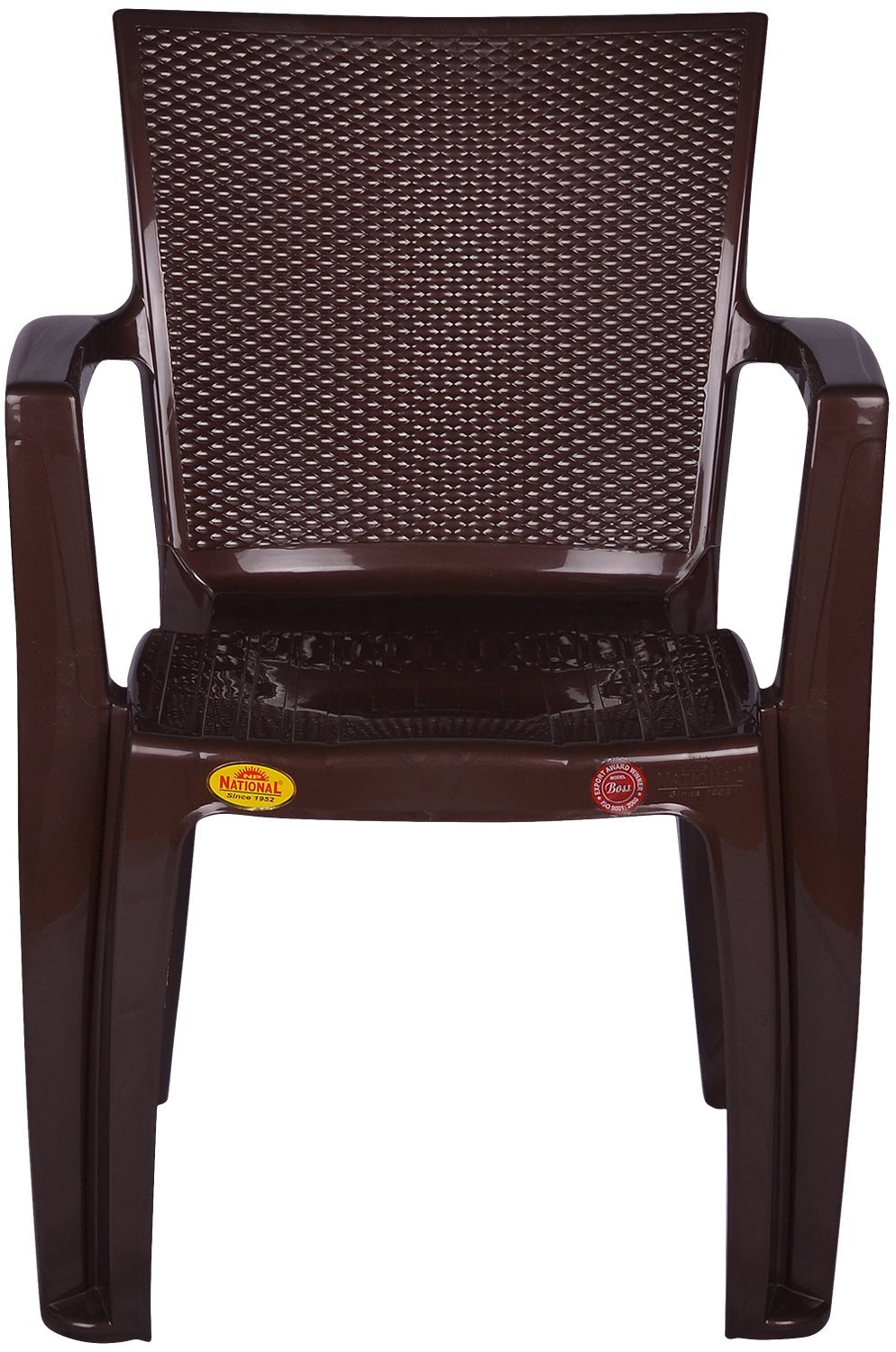 National Plastics Industries Ebboss01 Chair Brown Amazon In Home