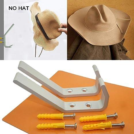 Amazon.com: Ganchos para colgar sombreros de metal, perchero ...