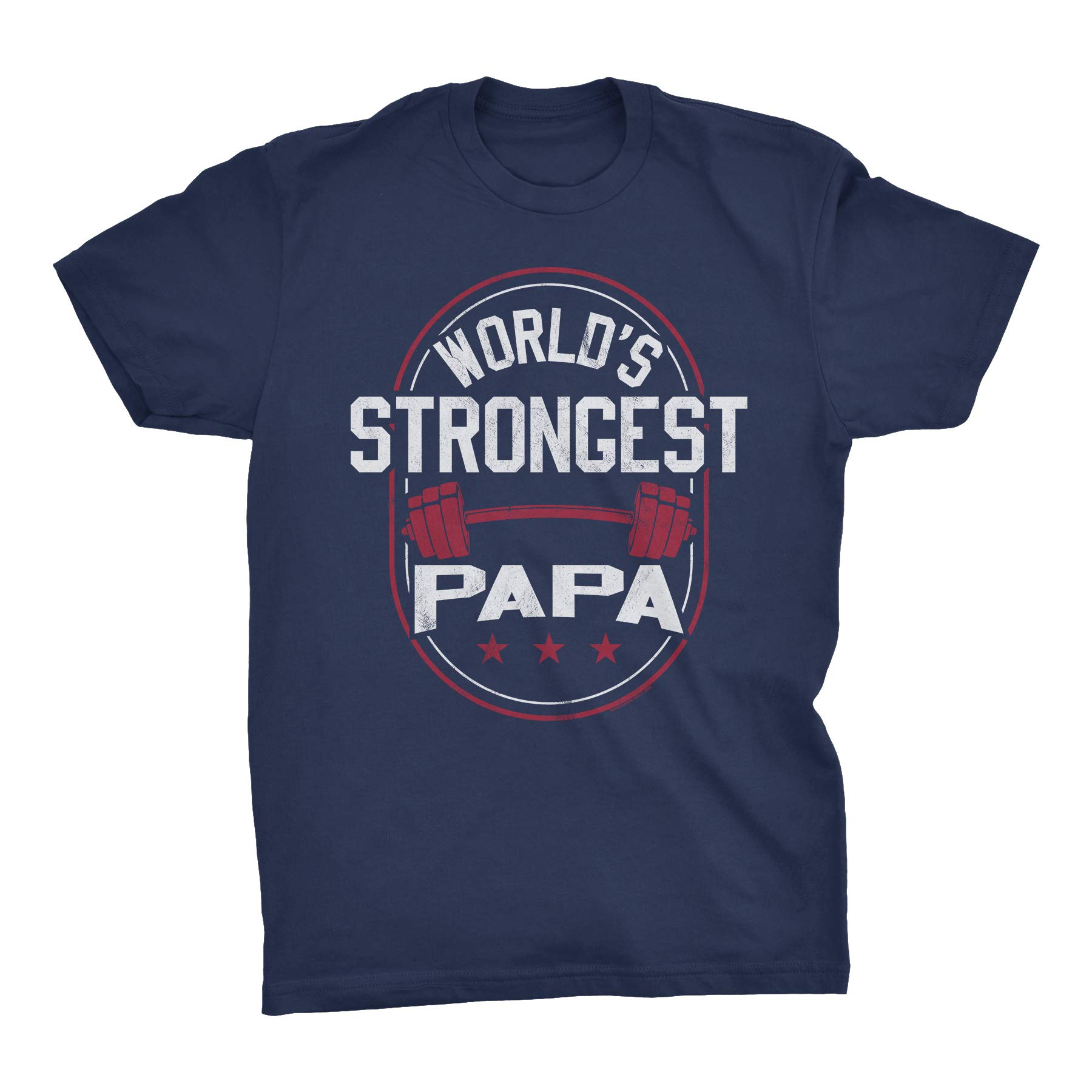 Worlds Strongest Papa Fathers Day S Tshirt
