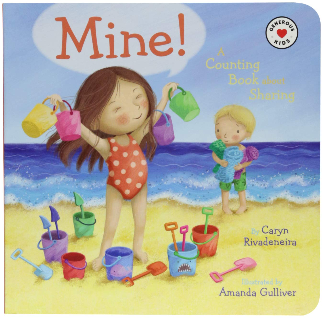 Download Mine!: A Counting Book About Sharing (Generous Kids) pdf