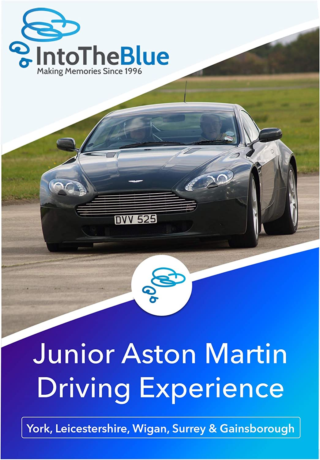 Into The Blue Junior Aston Martin Driving Experience Gift Voucher Valid At Nationwide Locations Under 17 Driving Lesson Experience Amazon Co Uk Sports Outdoors