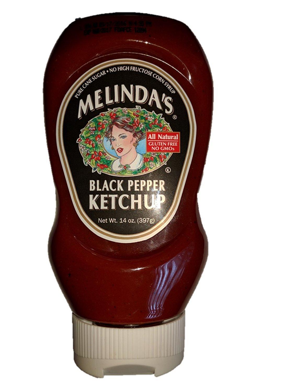Melinda's Black Pepper Ketchup - 14oz