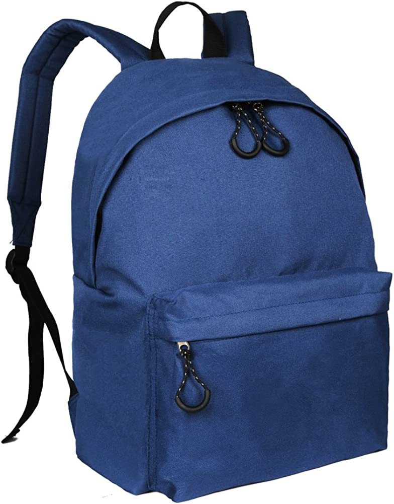 Dellukee Student School Backpack Fashion Canvas Durable Teens Bags Daypack