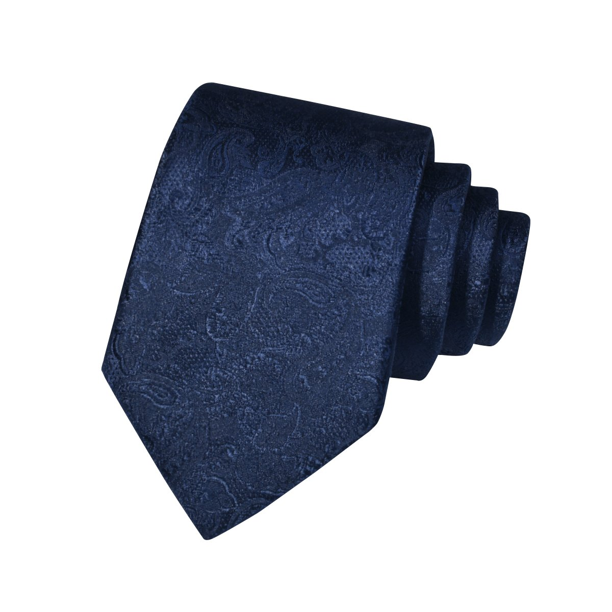 Men Ties Classic Jacquard Polyester Microfiber Neck Ties for Formal Party Suit