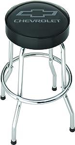 Plasticolor 004790R01 Black/Grey Garage Stool (Chevrolet)