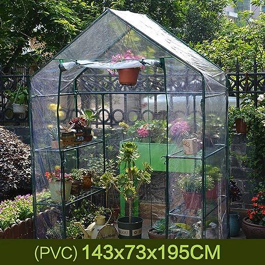 TWS Invernadero jardín Aislamiento Que Cubre la Lluvia con 6 estantes (Color : C): Amazon.es: Hogar