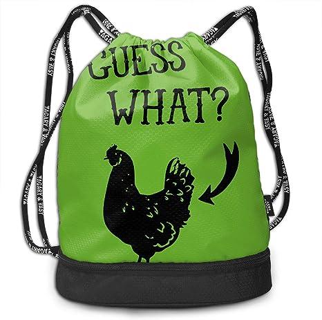 Drawstring Backpack Rooster Gym Bag