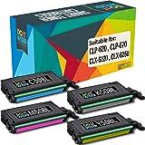 3x ECO Toner für Samsung CLP-670-N CLX-6220-FX CLP-670-ND CLX-6250-FX CLP-620-ND