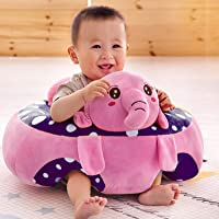 Sana Imported Premium Quality Soft Toy Sofa/Chair for Kids (Size_46cm Pink)