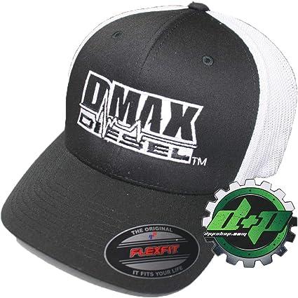 S//M  DMAX Diesel Flexfit fitted stretch fit  trucker ball cap hat Chevy Duramax